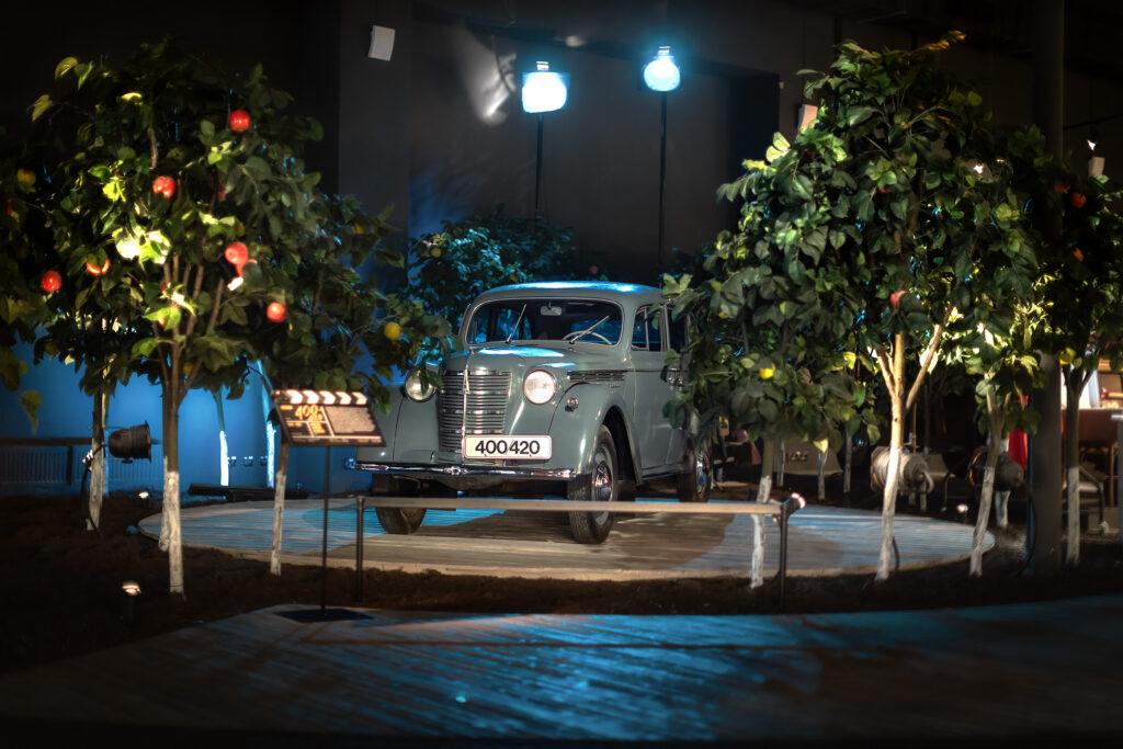 Москвич 400420 - АЗЛК - Экспонат выставки